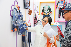 Kids Fashion Design Contest judges