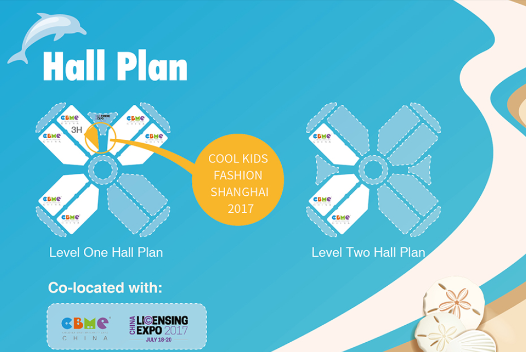 Cool Kids Fashion Hall Plan
